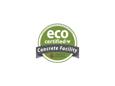 Concrete Ontario Eco Certified Concrete Facility
